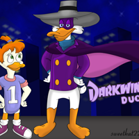 Darkwing Duck Hero Shot by sweetkat22