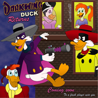 Darkwing Duck Returns by sweetkat22