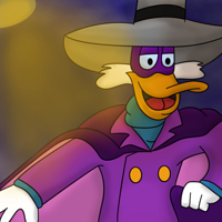 I Am Darkwing Duck by sweetkat22